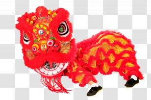 China Lion Dance Chinese New Year Dragon Carnivoran Animated Celebration Transparent Png