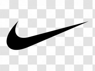 Swoosh Nike Logo Just Do It Black And White Nike Transparent Png