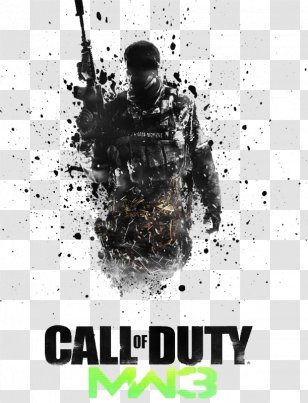 Call Of Duty Modern Warfare 3 Logo Brand Product Design Font Poster Transparent Png