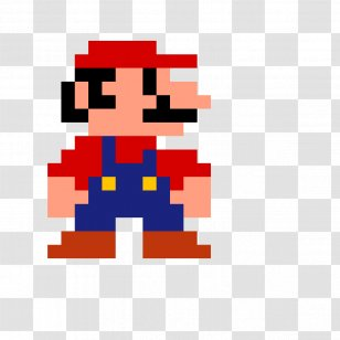 Super Mario Bros Kart 8 8 Bit Color Pixel Art Toad Sprite