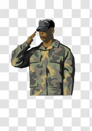 Sailor Salute Soldier Military Personnel Clip Art Transparent PNG